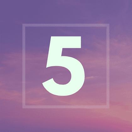 Numérologie : votre année personnelle 5