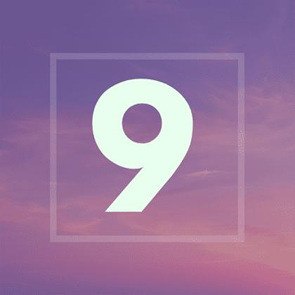Numérologie 2019 :année 9