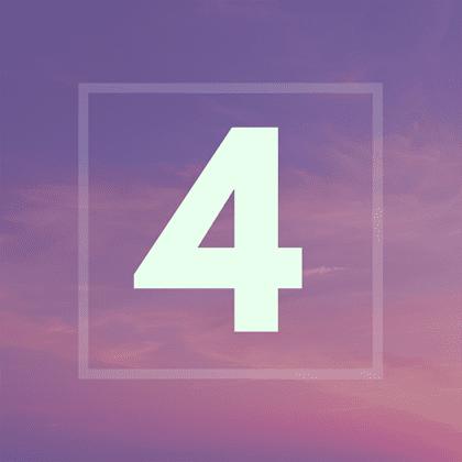 Numérologie : votre année personnelle 4