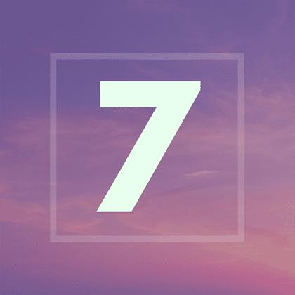 Numérologie : votre année personnelle 7