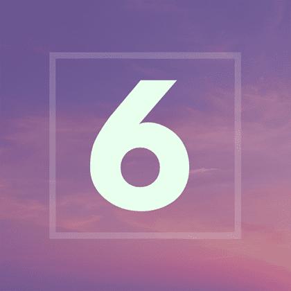 Numérologie : votre année personnelle 6