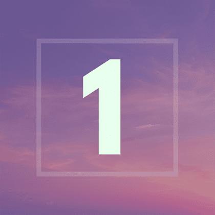 Numérologie : votre année personnelle 1
