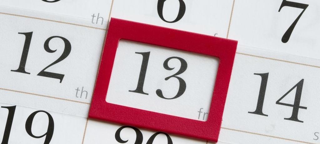 Vendredi 13 : chance ou malchance ?
